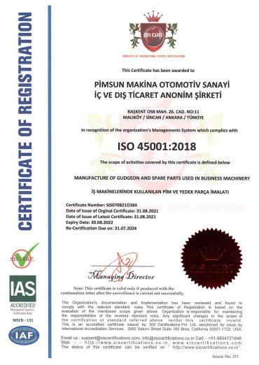 pimsun ISO 45001
